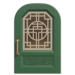 NH-House Customization-green imperial door (round)