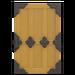 NH-House Customization-yellow zen door (square)