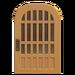 NH-House Customization-latticework door (round)