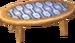 Beige alpine low table