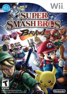 Carátula Super Smash Bros. Brawl