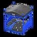 NH-Furniture-Cute bed (blue)
