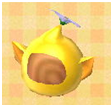Yellow pikmin hat cropped