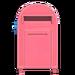 NH-House Customization-pink large mailbox