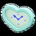 NH-Furniture-Cute wall-mounted clock (sky blue)