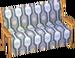 Beige alpine sofa
