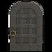 NH-House Customization-iron door (round)