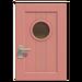 NH-House Customization-pink basic door (square)