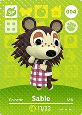 Amiibo 004 Sable