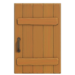 NH-House Customization-maple rustic door (square)