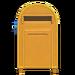 NH-House Customization-yellow large mailbox