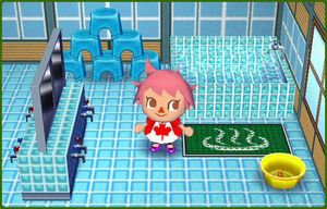 Image spa animal crossing wiki fandom - Animal crossing wild world hair salon ...