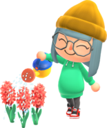 Animal-Crossing-New-Horizons Characters-Watering