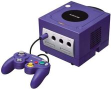 Purple-game-cube