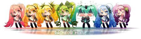 Miku Rainbow
