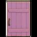 NH-House Customization-pale-purple rustic door (square)