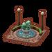 Fontaine en bronze-ACPC
