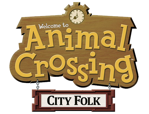 File:Animal Crossing- City Folk (logo).png