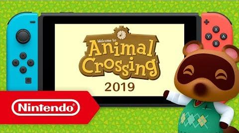 Animal Crossing arrive sur Nintendo Switch !