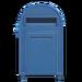 NH-House Customization-blue large mailbox