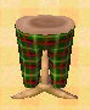NL-green tartan pants