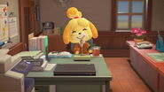 Isabelle announcement with phone