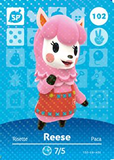 Reese | Animal Crossing Wiki | FANDOM powered by Wikia