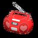 NH-Furniture-Cute music player (red)
