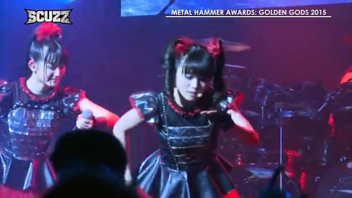 BABYMETAL - Gimme Choko!!, PRO SHOT Metal Hammer Golden Gods 2015
