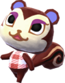 Pecan - Animal Crossing New Leaf