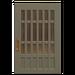 NH-House Customization-gray latticework door (square)