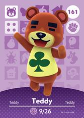 Amiibo 161 Teddy