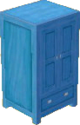 Light blue cabinet
