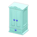 NH-Furniture-Cute wardrobe (sky blue)