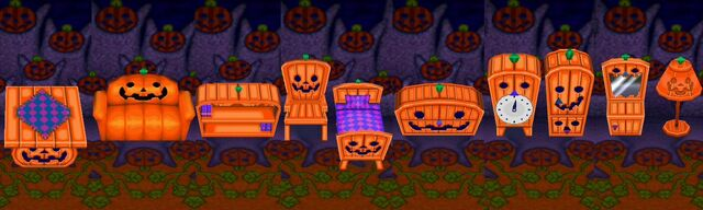 Animal Crossing Spooky Series Complete