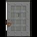 NH-House Customization-gray iron door (square)
