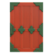 NH-House Customization-red zen door (square)