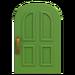 NH-House Customization-green-apple common door (round)
