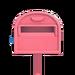NH-House Customization-pink ordinary mailbox