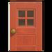 NH-House Customization-windowed door (square)