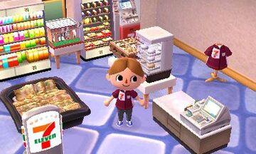 The 7 Eleven Set Is A Distributed Item Furniture Series In The Japanese  Version Of Animal Crossing: New Leaf And Animal Crossing: Happy Home  Designer.