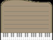 Piano-paper