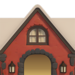 NH-House Customization-red cobblestone exterior