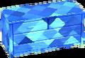 Sapphire blue bureau