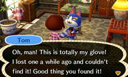 Tom ACNL Talk Villager Return Item