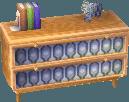 Beige alpine dresser