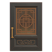 NH-House Customization-black imperial door (square)
