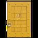 NH-House Customization-yellow iron door (square)