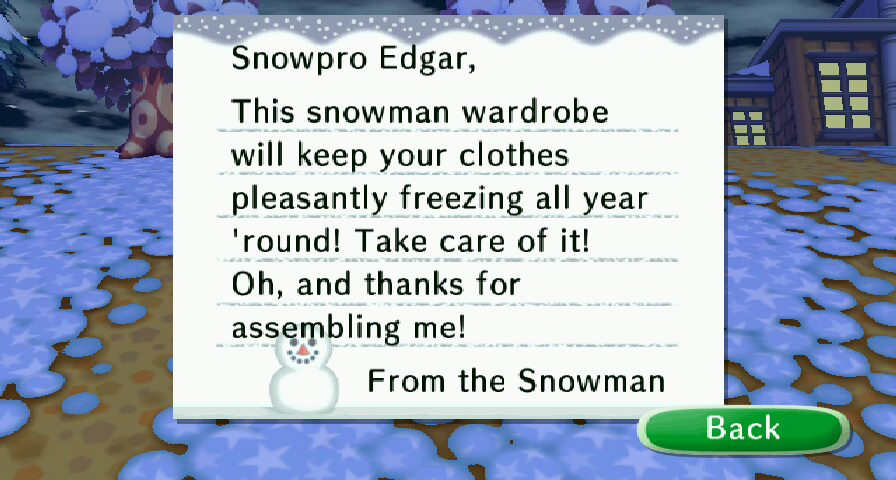 Snowman series | Animal Crossing Wiki | FANDOM powered by Wikia