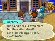 Hide-and-Seek Anchovy